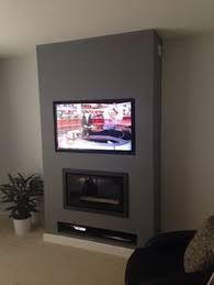 Great Pictures Electric Fireplace with tv above Tips tv wall ideas, tv wall ide. - Great Pictures Electric Fireplace with tv above Tips tv wall ideas, tv wall ideas with fireplace, - Living Room Tv, Living Room With Fireplace, Tv On Wall Ideas Living Room, Wall Decor Above Tv, Wall Tv, Shelf Wall, Wall Mount Entertainment Center, Tv Wanddekor, Tv Feature Wall