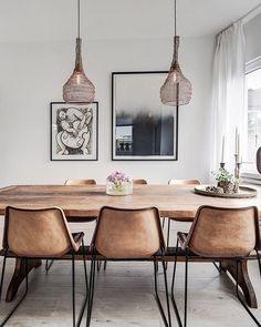 """Bjurfors (@bjurfors_goteborg) on Instagram: """"Vilken dröm att ha ett burspråk som detta hemma. Ljust, luftigt och dessutom får ett rejält matbord…"""""""