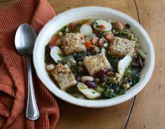#Ribolita Tuscan Bread Soup/ Toskańska #zupa chlebowa