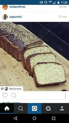 Pão super fibras