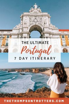 Portugal Itinerary: 7 Days of Exploring - The Thompson Trotters Portugal Travel Guide, Europe Travel Guide, Travel Guides, Backpacking Europe, Travel Tips, History Of Portugal, Lisbon Portugal, Visit Portugal, Honeymoon Destinations