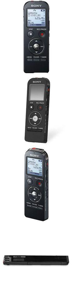 Voice Recorders Dictaphones: Sony Icd Ux533blk 4Gb Digital Flash Voice Recorder Oem (Black) - Icd-Ux533 -> BUY IT NOW ONLY: $129.99 on eBay!