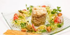 Pierre Koffmann's beautiful crab salad is the perfect combination of light, complimentary flavours