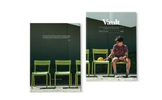 Vault Mag Issue 00 - Possibilities on Behance