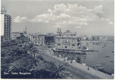 Margherita theatre - One of the most important theatre in Bari, Italy, entirely built on the sea