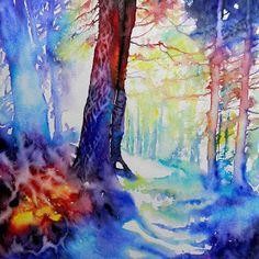 Cristina Dalla Valentina.    http://cristinaswatercolors.blogspot.co.uk/