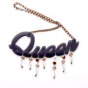 KK Plexi Crystals - Queen/black