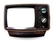 old tv frame png