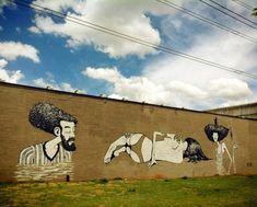 Street art in Sao Paulo, Brazil by Apolo Torres | great urban artists, street art online, urban art, graffiti art