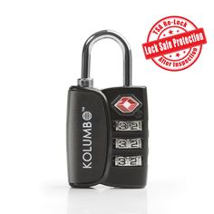 TSA Lock - 3 Digit Combination - Best Luggage Lock For Travel Safety and Security - Lock Alert, Heavy Duty, Assorted Colors TSA Suitcase Lock - Lock Safe Protection - Environmentally Friendly TSA Approved Lock - How To Become A Smarter Traveler eBook - Lifetime Guarantee - - Amazon.com