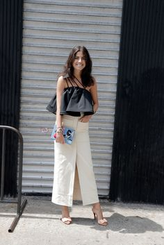 summer outfit wedding inspiration from Man Repeller