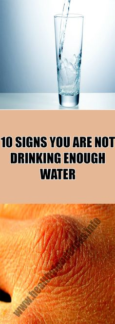 10 SIGNS YOU ARE NOT DRINKING ENOUGH WATER – Healthy Food Tricks