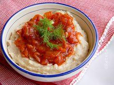 FASOLE BATUTA   Chana Masala, Hummus, Risotto, Mashed Potatoes, Goodies, Lunch, Vegan, Ethnic Recipes, Kitchen