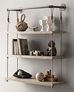 Pipe shelves originally $325