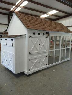 Texas Port View Chicken Coop