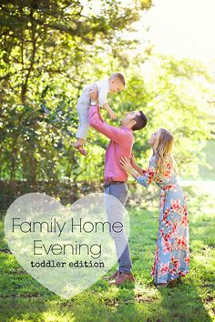 Family Home Evening lessons for toddlers posted every Monday! Short and sweet and based off of the children's primary song book.