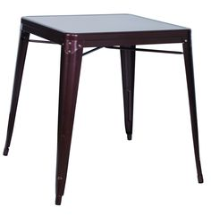 Copper Galvanized Steel Dining Table