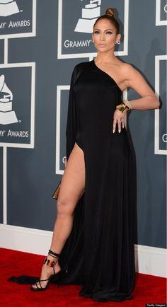 Lo mejor de los Gramys: La respuesta de J.Lo a la petición de CBS de usar vestidos discretos