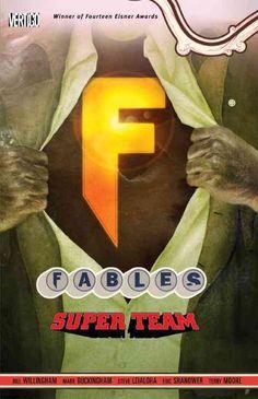 Vertigo Fables 16: Super Group