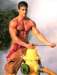 Mine, someone Skinny sexy firefighter images