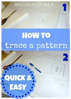 Check out this smart and EASY HACK for tracing multi-sized patterns. (Why didn't I figure this out before?!)