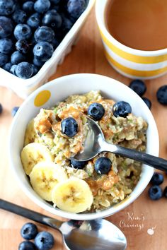Chocolate Protein Zucchini Oatmeal- a chocolatey scrumptious bowl of oats packed with protein and a boost of nutrients!