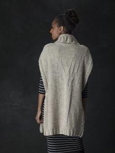Free Knitting Pattern L40332 Tall Trees Tunic : Lion Brand Yarn Company