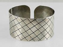 Slant - metal bracelet