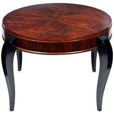 Art Deco Period Mahogany Coffee Table