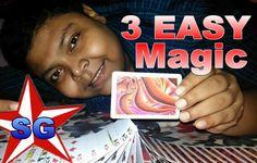 3 EASY Magic Tricks - How To Magic!(हिन्दी)-https://youtu.be/s8r4rNFi8y0