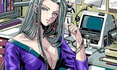 Retro 4, Pixel Life, Samurai, Anime Pixel Art, Video Games Girls, Pixel Games, Old Anime, Retro Futuristic, Cybergoth