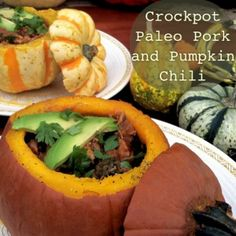Crockpot Paleo Pork and Pumpkin Chili (our all time favorite chili!)