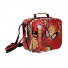 Portamerienda térmico  con accesorios Spiderman Attack