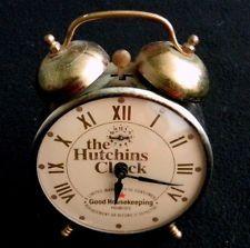 The Hutchins Clock Wind Up Alarm Good Housekeeping RARE