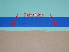 How to paint a straight line