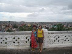 Sandra e Sueli - Em frente a Igreja do Bonfim - Salvador - 20/Fev/2009