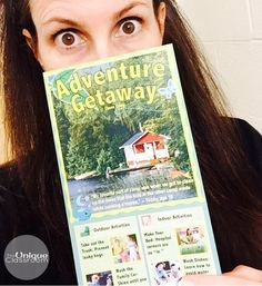 "Adventure Getaway CHORE Camp... Wait what?!?  I love playing this prank on my students every year!  I found this hilarious ""brochure"" on Pinterest. The look on their faces when I tell my students that their parents signed them up for this ""Adventure Getaway Chore Camp"" is priceless!!  Some activities include ""Take out the trash: Prevent leaky bags"" and ""Wash dishes: Learn how to avoid water spots."" One student actually said he wanted to learn how to make his bed (""Hospital corners are so…"