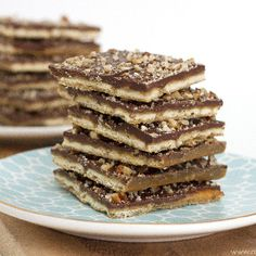 Cracker Toffee...a quick and simple dessert, sure to please any crowd!