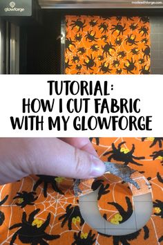 Information about how to cut fabric with a Glowforge laser cutter. Includes step-by-step details and images. Laser Cutter Ideas, Laser Cutter Projects, Cnc Projects, Sewing Projects, Cute Crafts, Crafts To Sell, Diy Crafts, Diy Kids Furniture, Furniture Design