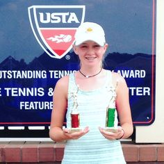 Congratulations to Alice Hall, girls' 14 doubles champion and singles 3rd place winner at the South Carolina Closed Junior Hardcourt State Championship (SC L2) in Cayce, SC. Great job Alice!! Well done! #AliceHall #JohanKriekTennisAcademy #JKTA #JKTAteam #elitetennisacademy #tennis #Trainingwithrealchampions