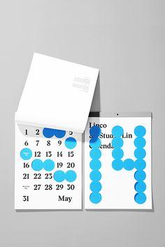designeverywhere: Studio Lin x Linco Printing 2014 Calendar Kids Calendar, Calendar Design, 2021 Calendar, Calendar Diary, Monthly Planner Printable, Printable Calendar Template, Editorial Design, Maya, Stationery