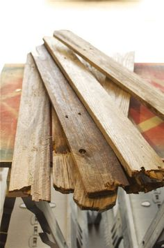 Great idea for old scrap wood.