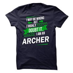 Its a ARCHER Thing Strong name 2015