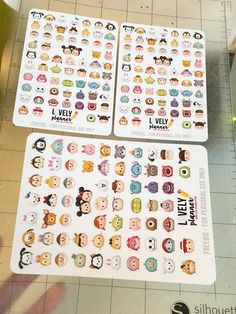 Free Tsum Tsum stickers for your planner. Free Planner, Planner Pages, Happy Planner, Planner Ideas, Filofax, Cliparts Free, Tsum Tsum Party, Disney Planner, Tsumtsum