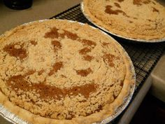 Mom's Sho-Fly Pie (1) From: Savor The World, please visit