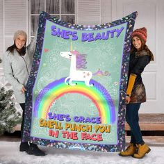 Unicorn Gifts, Photo Quality, Gifts For Women, Blanket, Bacon Dip, Birthday, Fireside Chats, Quality Printing, One Color