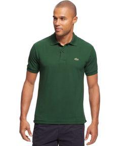 Lacoste Classic Pique Polo Shirt  - Green 2XL
