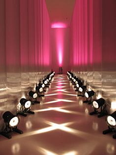 the ways lights can transform an events space