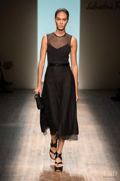Photo feat. Joan Smalls - Salvatore Ferragamo - Spring/Summer 2015 Ready-to-Wear - milan - Fashion Show | Brands | The FMD #lovefmd