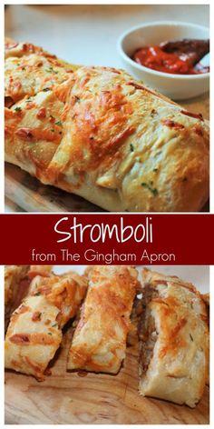 Stromboli Stromboli- An easy and fun way to make homemade pizza.Stromboli- An easy and fun way to make homemade pizza. Pizza Recipes, Beef Recipes, Appetizer Recipes, Dinner Recipes, Cooking Recipes, Budget Cooking, Italian Appetizers, Easy Cooking, Easy Recipes